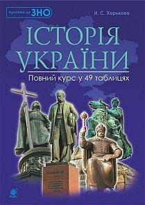 Історія України : повний курс у 49 табл. : підготовка до ЗНО